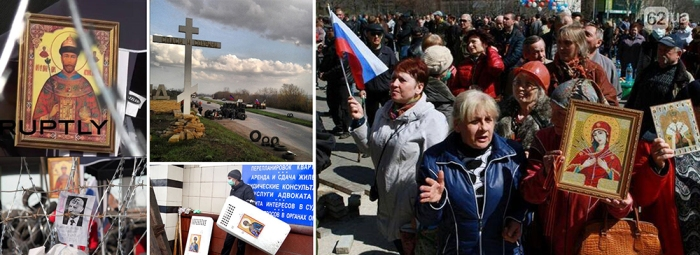 Source: Ruptly, Ridus. Donetsk, Kramatorsk, Lugansk, April, 2014.