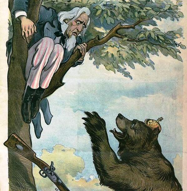 russian bear cartoon